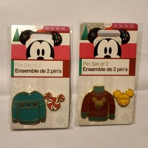 30 Scotts Collectable Christmas Ornament Skating Friends 5 Figures Tie-Ons Gift Boxed Set